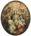 The Virgin and Angels adoring the Infant Christ - (after) Joseph, The Younger Heintz