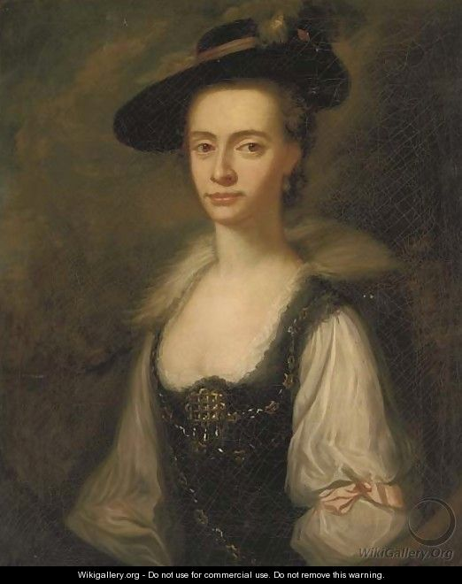 Portrait of Anne Townley - (after) Josepf Wright Of Derby