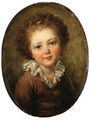 Portrait of a child - (after) Fragonard, Jean-Honore
