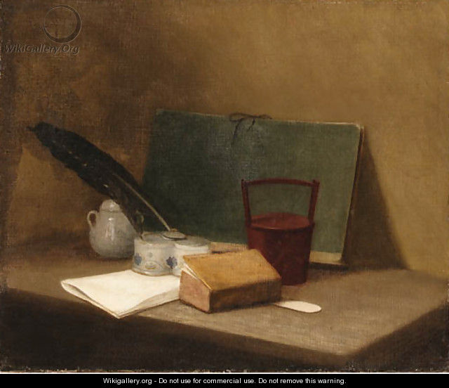 A Book - (after) Jean-Baptiste-Simeon Chardin