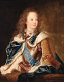 Portrait of the Dauphin, Louis, later King Louis XV of France (1710-1774) - (after) Jean Baptiste Van Loo