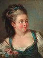 Portrait of a young girl - (after) Jean-Baptiste Leprince