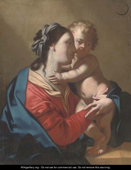 The Virgin and Child - (after) Jean Tassel
