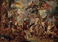 The Marriage of Peleus and Thetis - (after) Johan Georg Platzer