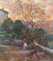 The gardens of a Spanish farmhouse - (after) Joaquin Sorolla Y Bastida