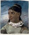 Portrait of a young woman - (after) Theodore Gericault