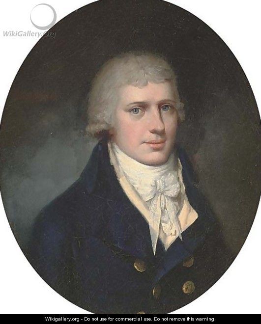 Portrait of Charles Eyre - (after) John Downman