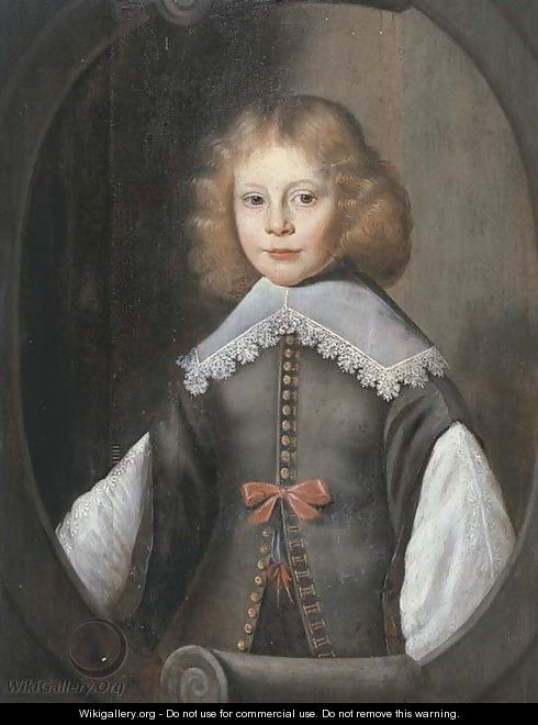 Portrait of a boy - (after) Anthony Van Ravesteyn