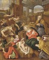 The Adoration of the Shepherds - (after) Jan De Beer