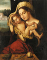 The Virgin and Child - (after) Jan (Mabuse) Gossaert