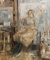Girl Reading - Basil Blackshaw