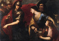 The Offering of Abigail - Bartolomeo Biscaino