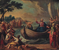 Christ preaching on the Sea of Galilee - Austrian School