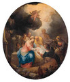 The Adoration of the Shepherds - Balthasar Beschey