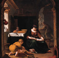 The Holy Family - (after) Willem Van Mieris
