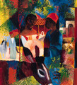 Markt in Tunis - August Macke