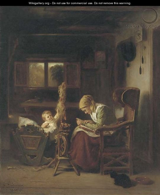 A story for the baby - August Heinrich Niedmann