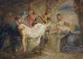 Christ carried to the Tomb - (after) Sir Peter Paul Rubens