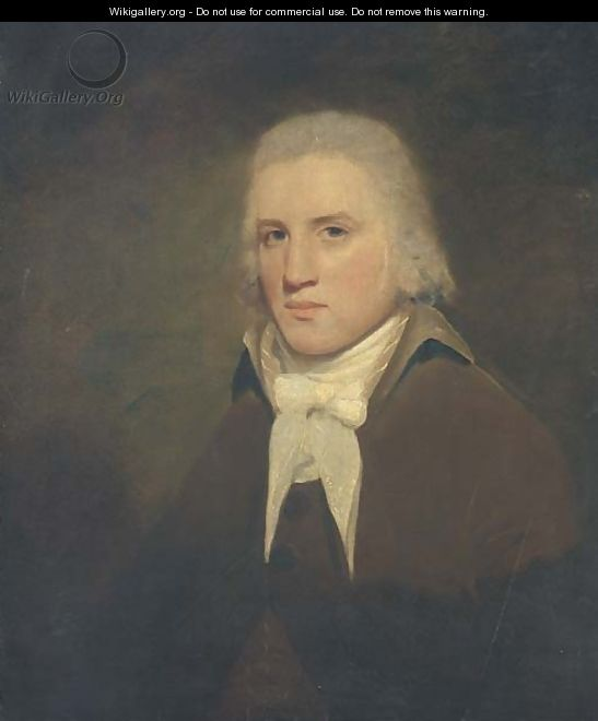 Portrait of Thomas Wise of Hillbank, Forfarshire - (after) Sir Henry Raeburn