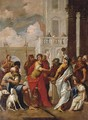 The Head of Pompey delivered to Caesar - (after) Sebastiano Ricci