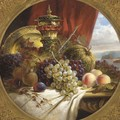 Grapes, peaches, pomegranates - (after) W.E.D. Stuart