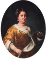 Portrait of a lady - (after) Vittore Ghislandi