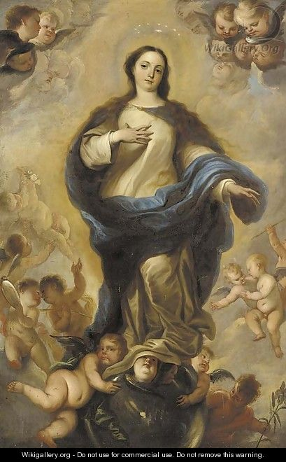 The Immaculate Conception - (after) Miguel Jacinto Menendez