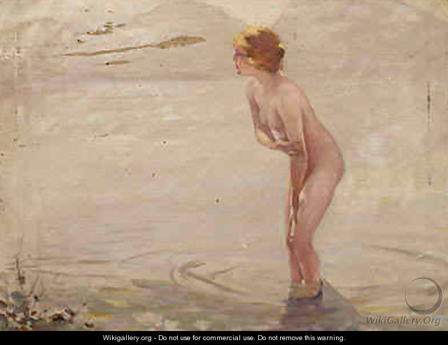 September Morning - (after) Paul Chabas