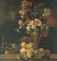 Carnations - (after) Pierre Nicolas Huilliot