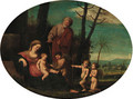 The Rest on the Flight into Egypt - (after) Pietro Paolo Bonzi
