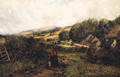 The Blackberry Pickers - (after) John Wright Oakes