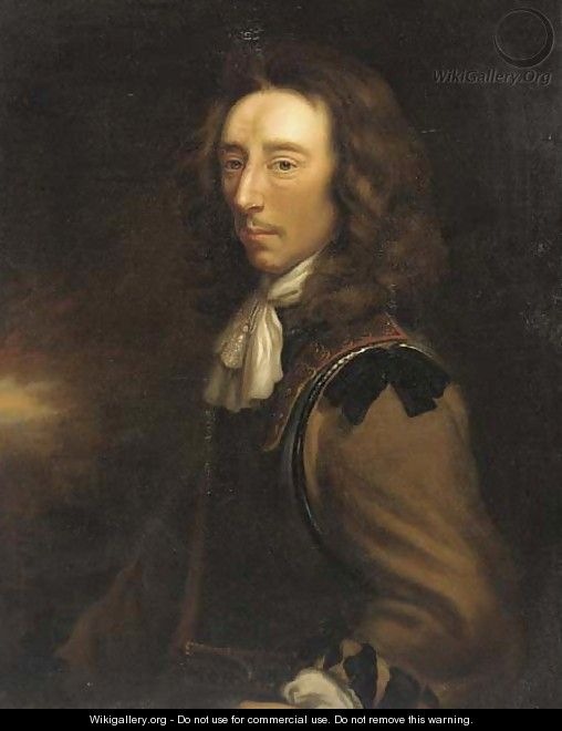 Portrait of Sir Algernon Sidney (1622-1683) - (after) Justus Van Egmont