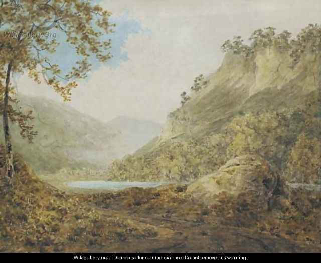 The River Derwent, near Matlock, Derbyshire - (after) Josepf Wright Of Derby