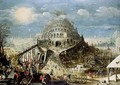 The Tower of Babel - (after) Louis De Caullery