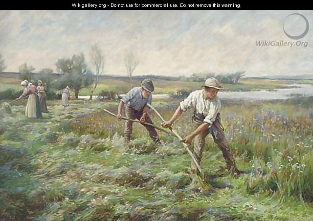 Threshing - (after) Lionel Percy Smyth