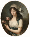 Portrait of a Lady, - (after) Marie-Victoire Lemoine