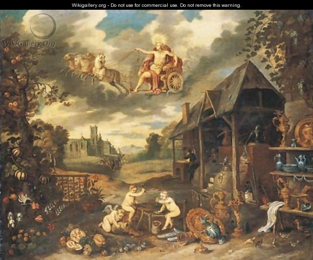 An Allegory of Peace - (after) Jan, The Younger Brueghel
