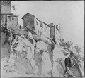 Italianate Houses on a Cliff - (after) Jan Asselyn