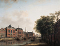 The Houtgracht, now the Daniel Meijerplein, Amsterdam - (after) Jan Ten Compe