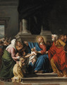 Christ blessing the Children - (after) Jean-Germain Drouais