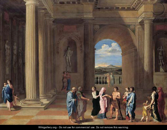 The Marriage of Hercules and Deianeira - (after) Pierre (Lemaire-Poussin) Lemaire
