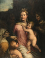 Holy Family with the Infant Saint John the Baptist, - (after) Girolamo Da Trevisio Giovane