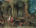 Venus at the forge of Vulcan - (after) Hendrik Van Balen, I