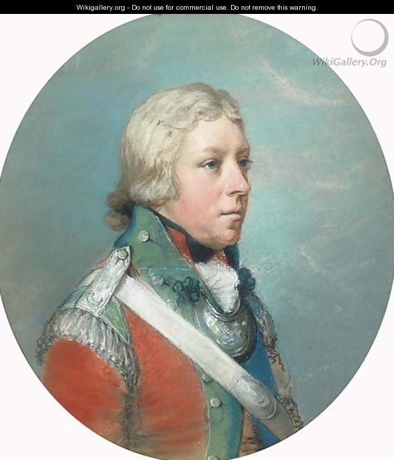 Portrait of Sir Corbett Corbett - (after) Hugh Douglas Hamilton