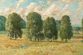 Trees, New Hampshire - Childe Hassam
