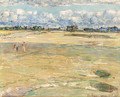 On the Links - Childe Hassam