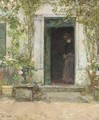 In the Doorway - Childe Hassam