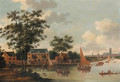 View of the River Rotte - (after) Abraham Jansz. Storck