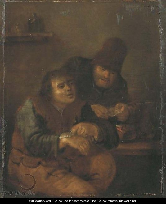 At the village doctor - (after) Adriaen Jansz. Van Ostade