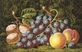 Plums grapes and peaches - Charles Thomas Bale